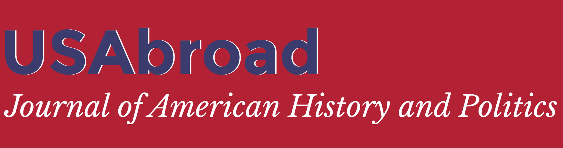 USAbroad – Journal of American History and Politics